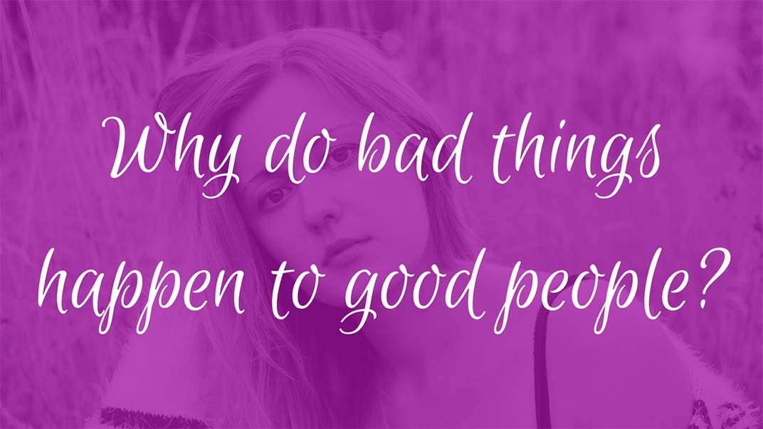 why do good people do bad Why does god let good things happen to bad people why do evil people seem to prosper why do bad people experience good  we often only see the good that happens.